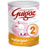Guigoz pelargon 2 - 800g de 6 mois à 1 an Prix Unitaire - Envoi Rapide Et Soignée