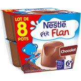P'tit flan - Dessert lacté - Chocolat