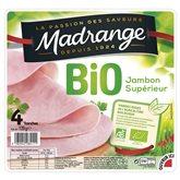 Jambon Bio Madrange x4 - 120g