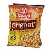 Soufflés Grignot' Tokapi Barbecue - 3x90g