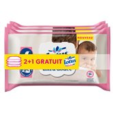 Lingettes Lotus Baby Ultra douce - x56 - 2