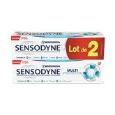Sensodyne Dentifrice  Multi-protection 2x75ml