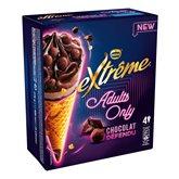 Nestlé Cône Adults Only Chocolats - X4 - 276g