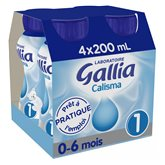Gallia Lait  Calisma 1er âge - 4x200ml