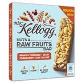 Kellogg's Barres céréales  Noisettes graines - 4x30g
