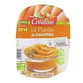 Purée de carottes Créaline