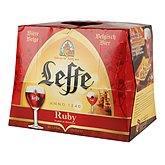 Leffe Bière Ruby Abbaye  Fruits rouges 5%vol. - 12x25cl