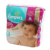 Pampers Couches Active Fit  T4 Géant - x39