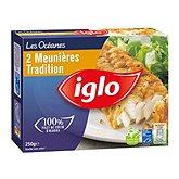 Iglo Filet de colin meunière  x2 - 250g
