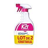 K2r Détachant  Avant lavage 2x750ml