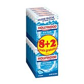Hollywood Chewing-gum  Fresh ice x8 + 2 gratuits 145g