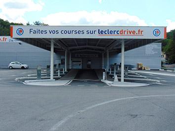 Drive limoges sud retrait courses en ligne adresse plan t l phone lec - Drive leclerc les angles ...